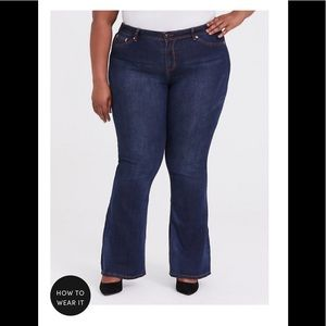 TORRID 22R Slim Boot Cut Jeans